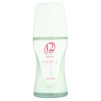 12 Plus Snail Whitening Less Shave Deodorant Roll On 40 ml. Thailand