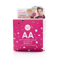 Cathy Doll AA Matte Powder Cushion Oil Control SPF50 PA+++ #21 Light Beige 15 gr. Thailand