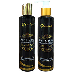 Genive Hair and Scalp Minimize Loss 200 ml. Thailand 100% Original Product from Thailand MADE IN THAILAND