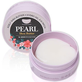KOELF Pearl Shea Butter Hydrogel Eye Patch 60 patches. Korea