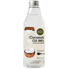 Натуральное Тайское кокосовое масло Phutawan Coconut Oil 285 мл. phutawan-coconut-oil-100-500ml.phutawan_coconut_oil_100_cold_pressed_500_ml._thailand