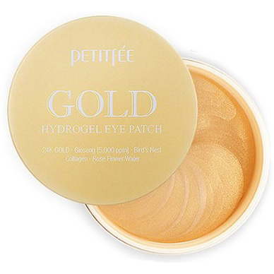 PETITFEE Gold Hydrogel Eye Patch 60 patches. Korea. PETITFEE-Gold-Hydrogel-Eye-Patch