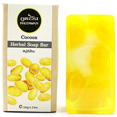 Phutawan Cocoon HERBAL SOAP BAR 120 гр.gr. Thailand