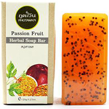 Phutawan HERBAL SOAP BAR Passion Fruit 120 gr. Thailand