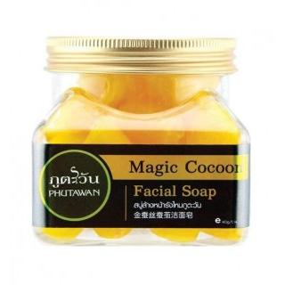 Phutawan Magic Cocoon Facial Soap 40 гр. Thailand