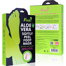 Пилинг Носочки из Тайланда с Алоэ Вера Aloe Vera Softly Peel Foot Mask Moods 2 пары