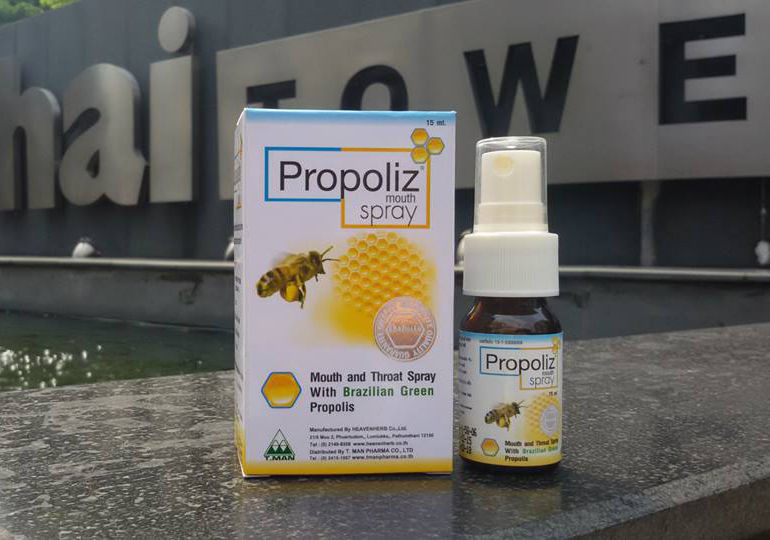 propolis spray mouth thailand