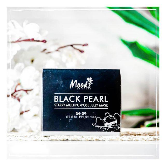 Тайские гидрогелевые патчи с черным жемчугом MOODS BLACK PEARL STARRY MULTIPURPOSE JELLY MASK 60 шт. ТАЙ