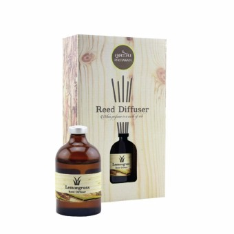 Phutawan Reed Diffuser Lemongrass 50 ml. Thailand 100% Original Product from Thailand MADE IN THAILAND