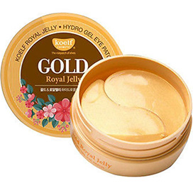 KOELF Gold Royal Jelly Hydrogel Eye Patch 60 patches. Korea