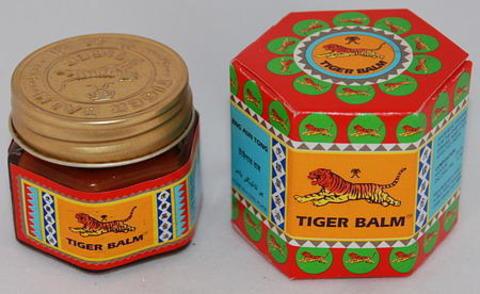 Тайский бальзам красный тигр инструкция